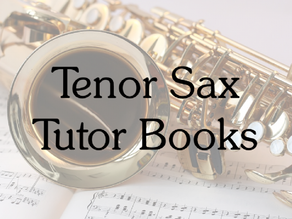 Tenor Sax Tutor Books